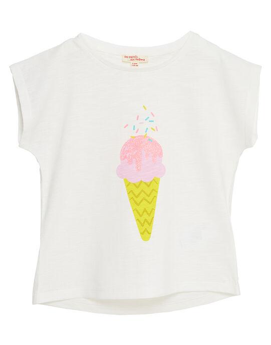 T-shirt manche courte, imprimé glace  JAJOTI10 / 20S901T3D31001