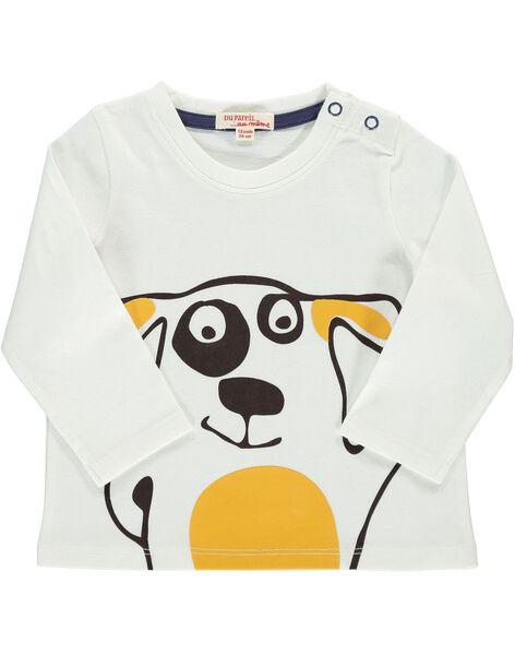 Tee-shirt manches longues fantaisie bébé garçon DUJOTEE5 / 18WG1035TML001