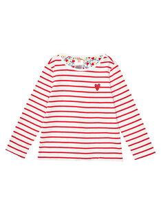 Tee Shirt Manches Longues Ecru JAGRATEE2 / 20S901E1TML001