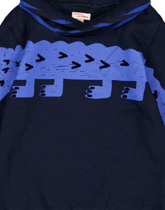 Sweat Shirt Col montant rayé GOBLASWE / 19W902S1SWEC243