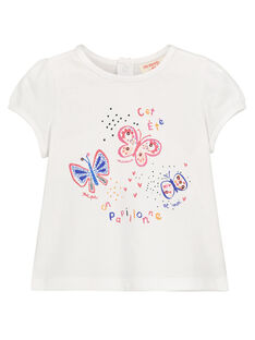 Tee-shirt imprimé bébé fille FITOTI1 / 19SG09L1TMC000