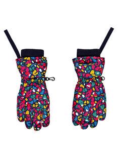 Moufle / Gant à motif multi couleur. GYASKIGANT / 19WI01W1GAN070