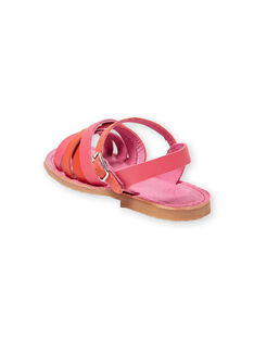 Sandales rose enfant fille LFSANDCLARA / 21KK3552D0E304