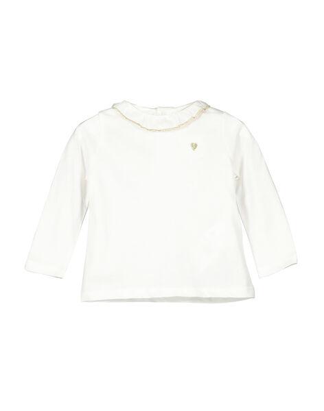 Tee-shirt manches longues bébé fille FIJOBRA1 / 19SG0931BRA001