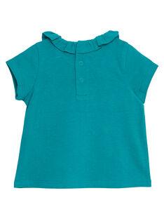 Brassiere turquoise layette fille JIJOBRA8 / 20SG09T3BRA621