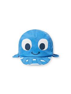 Casquette bleue bébé garçon LYUCASQ / 21SI10D1CHAC238