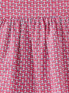 Robe de plage imprimée bébé fille JIPLAROB2 / 20SG09X2ROBD317
