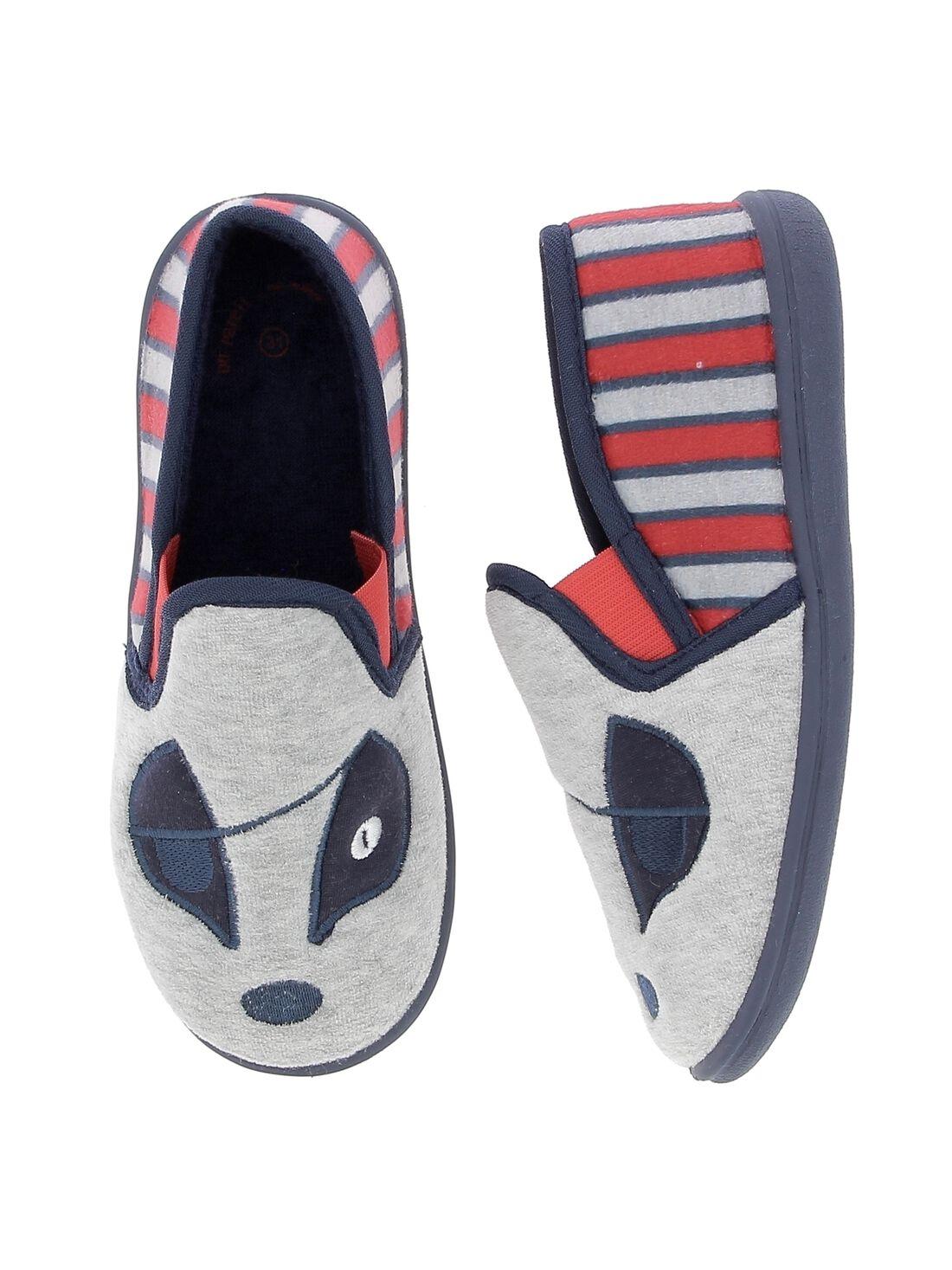 Bébé Garçon Fille Polaire Chaussettes Chaussures Dino pression sans beaucoup de couleurs