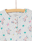 Pyjama enfant fille imprimé licornes KEFAPYJAOP / 20WH11I1PYJ904