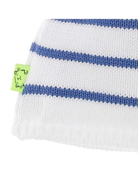 Bonnet de naissance bébé garçon CACGBONNET1 / 18SF41B1BON099