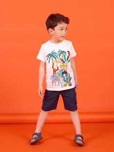 Tee Shirt Manches Courtes Ecru LOVITI4 / 21S902U4TMC001