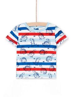 Tee Shirt Manches Courtes Blanc LUCANTI / 21SG10M1TMC000