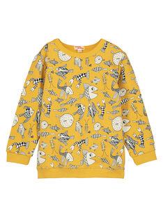 Sweat Shirt Jaune FOJOSWE4 / 19S90234SWBB107