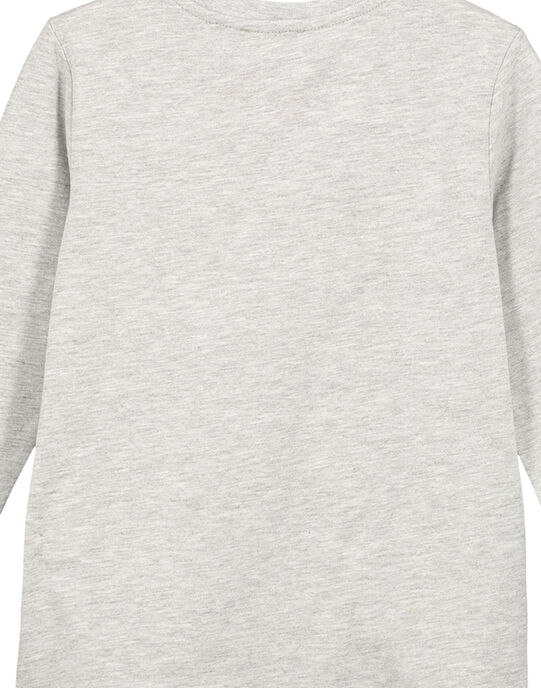 TShirt Manches longues Gris Chiné GOMUTEE2 / 19W902F3TML943