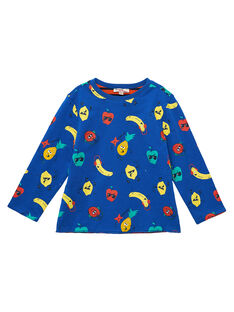 Tee Shirt Manches Longues Bleu JOVITEE3 / 20S902D3TML703