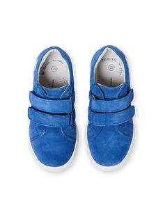 Baskets bleues enfant garçon LGBASBLEU / 21KK3632D3F701