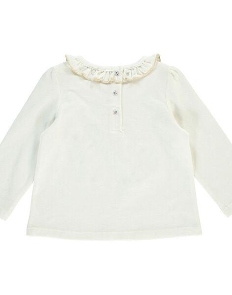 Tee-shirt manches longues bébé fille DITRITEE / 18WG09D1TML001