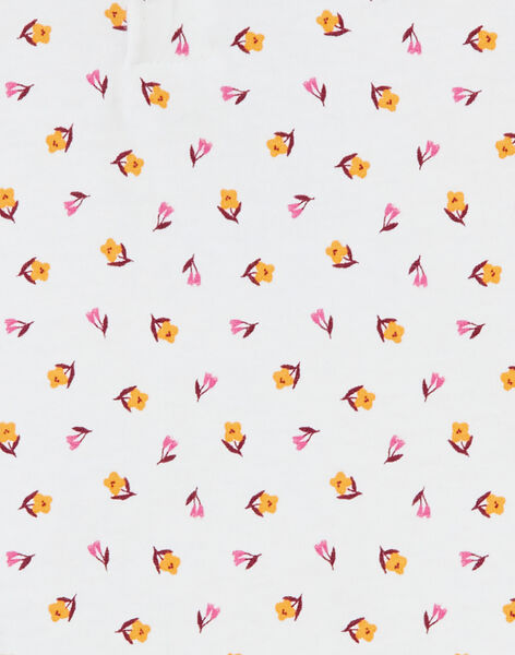 Brassière à col claudine motif sequins bébé fille KIREBRA / 20WG09G1BRA001