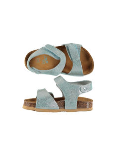 Sandale ville cuir bébé fille FBFNUICE / 19SK37D5D0E020