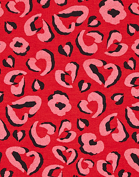 Robe manches longues imprimé léopard KABRIROB2 / 20W901F4ROB408