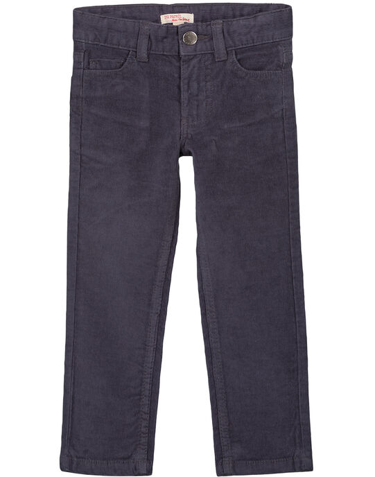 Pantalon En velours Gris Regular GOJOPAVEL2 / 19W90231D2BJ912