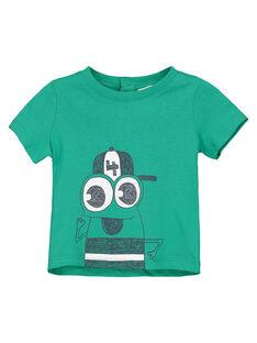 Tee-shirt manches courtes bébé garçon FUJOTI6 / 19SG10G1TMCG619