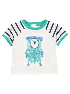 Tee-shirt réversible bébé garçon FUNETI2 / 19SG10B2TMC000