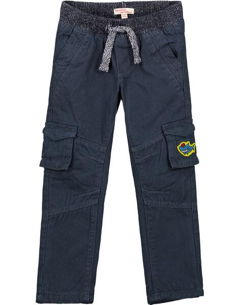 Pantalon Cargo Marine Doublé polaire GOBLAPAN2 / 19W902S2PANC243