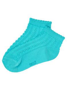 Chaussettes Turquoise JYABOCHO / 20SI01H1SOQ209