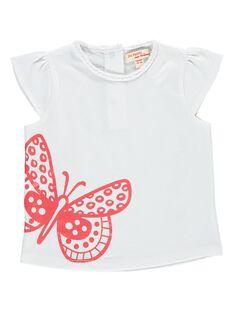 Tee-shirt manches courtes bébé fille CIJOTI9 / 18SG09S3TMC000