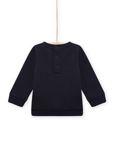 Sweat Shirt Bleu MUPLASWE / 21WG10O1SWEC243