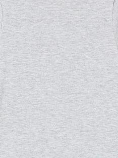 Body gris chiné imprimé ourson LEGABODCAL / 21SH142BBDLJ922