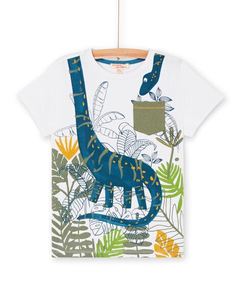 Tee Shirt Manches Courtes Blanc LOVERTI3 / 21S902Q4TMC000