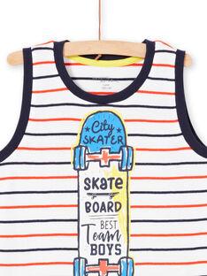 Pyjama à rayures enfant garçon LEGOPYCSKA / 21SH12C9PYJ000