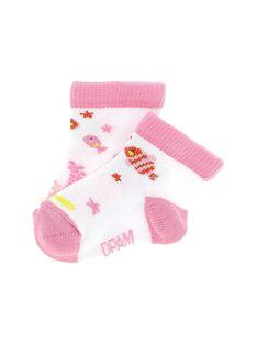 Chaussettes mi-hautes bébé fille CYIMACHO / 18SI09U1SOQ000