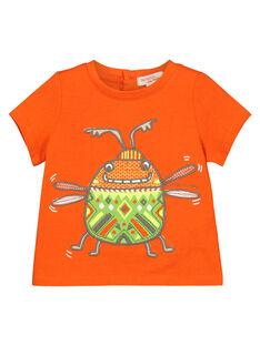 Tee-shirt manches courtes bébé garçon FUYETI1 / 19SG10M1TMC400