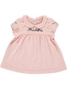 Tee-shirt manches courtes bébé fille CIBENBRA / 18SG09G1BRA321