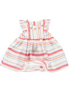 Robe sans manches bébé fille CIBUROB2 / 18SG09K3ROB099