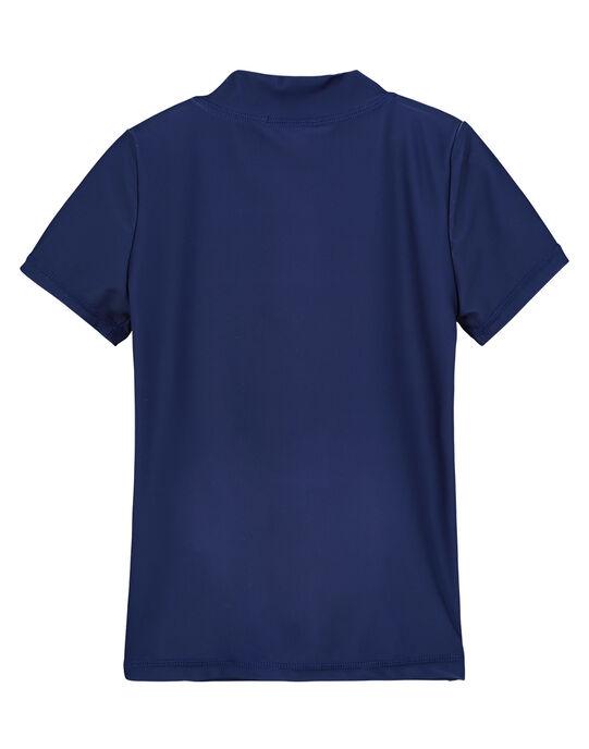 Tee-Shirt anti-uv Bleu marine FYOMERUVTIEX / 19SI02K3TUVC204
