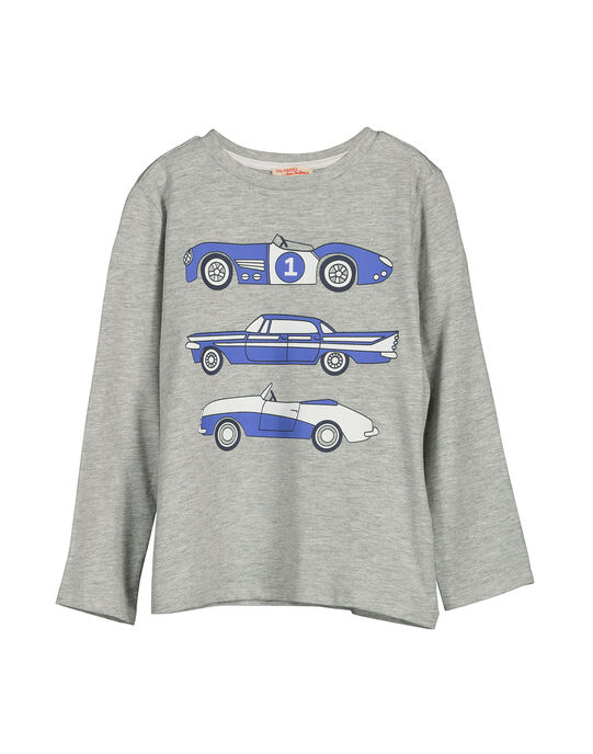 Tee Shirt Manches Longues Gris FOJOTEE5 / 19S90235D32J908