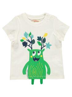 Tee-shirt manches courtes bébé garçon DUVETEE2EX / 18WG1071TMC001