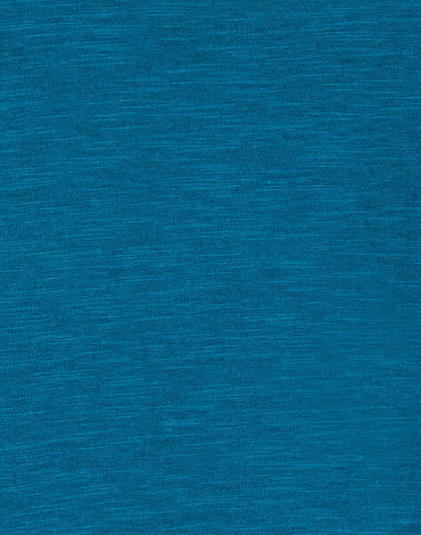 Tee-shirt turquoise phosphorescent enfant garçon KOECOTEE3 / 20W902H1D5IC217