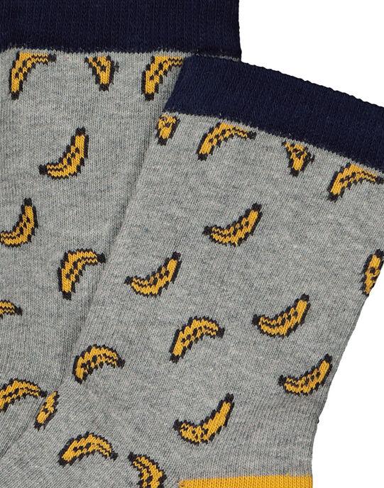 Chaussettes fantaisie garçon FYOLICHO / 19SI0221SOQJ908