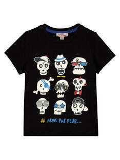 Tee Shirt Manches courtes Noir GOBLETI / 19W90291TMC090