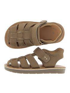 Sandale en cuir garçon CGSANDTAUP / 18SK36W3D0E803