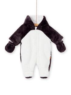 Pilote pingouin en fausse fourrure KOU2PIL / 20WF0521PIL929
