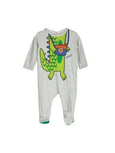Dors-bien en coton bébé garçon FEGAGRECRO / 19SH1446GREJ906