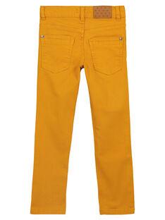 Pantalon Slim Stretch Ocre GOJOPATWI2 / 19W90248D2B107