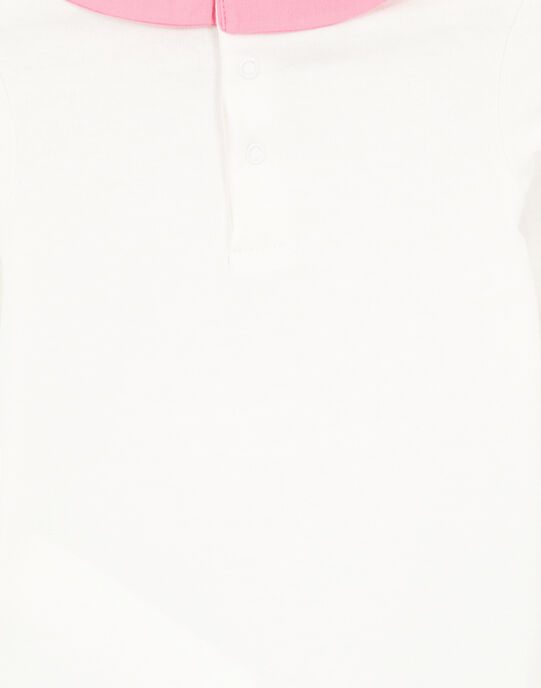 Body à col layette fille GIBLABODY / 19WG09S1BOD001