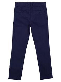 Pantalon chino Bleu Marine GOJOPACHI1 / 19W90244D2B070